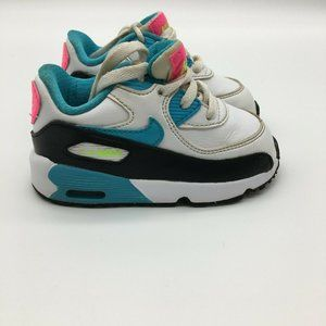 Air Max 90 Leather TD White Gamma Blue Nike 833379